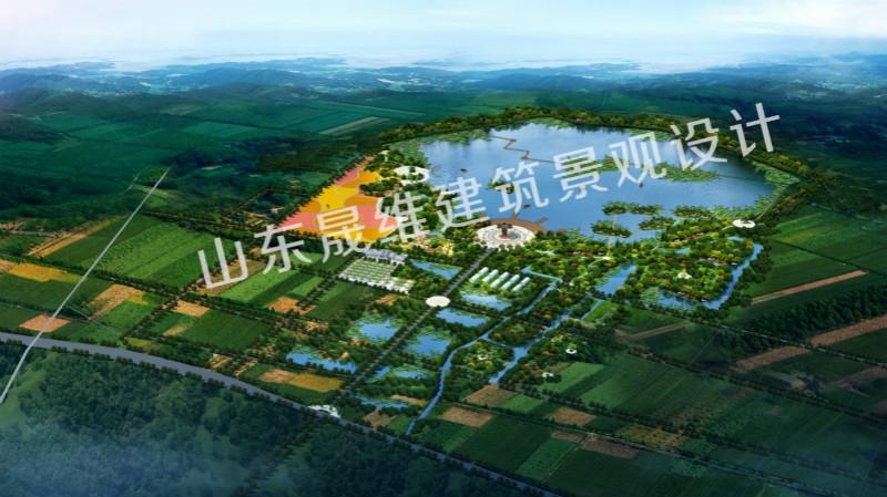 邹城中心店湿地公园景观设计