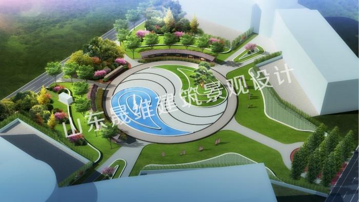 邹城鲁西煤矿中心广场景观设计
