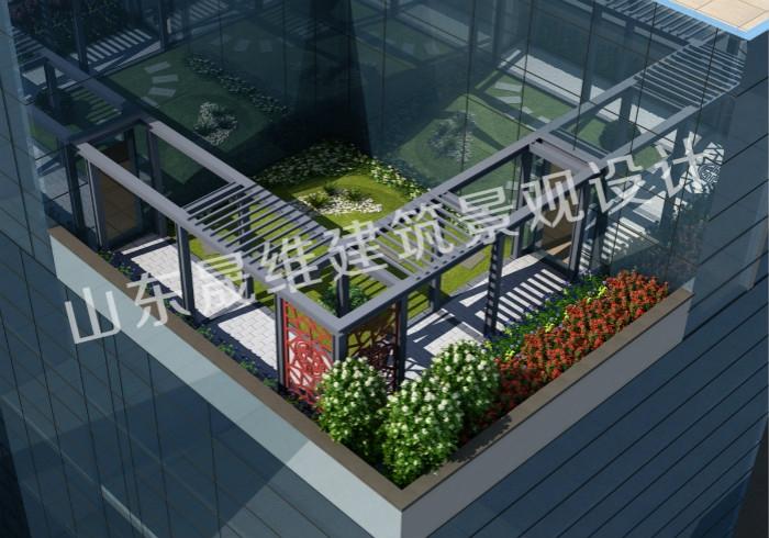杨柳国际新城屋顶花园设计