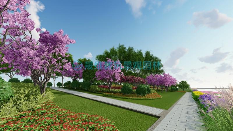 晟维设计案例——微山湖湿地景观设计效果图