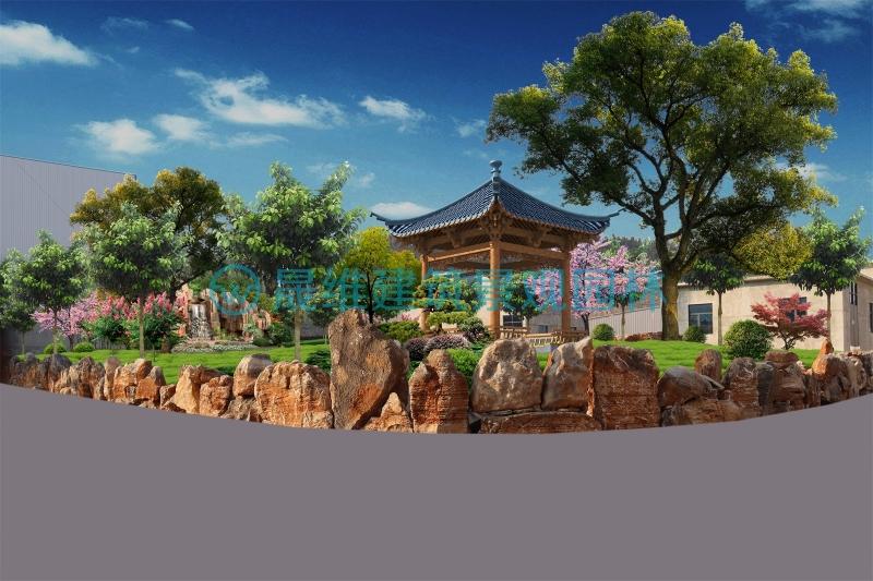 邹城铸诚建材厂区绿化设计