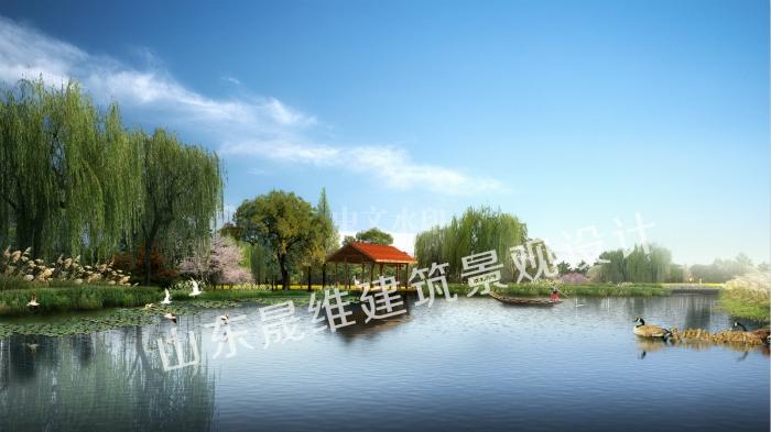 湿地公园景观设计
