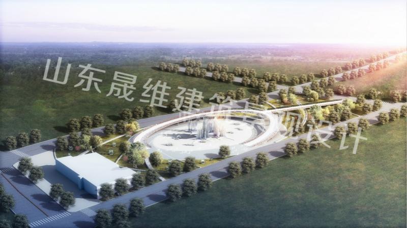 枣庄广场景观设计