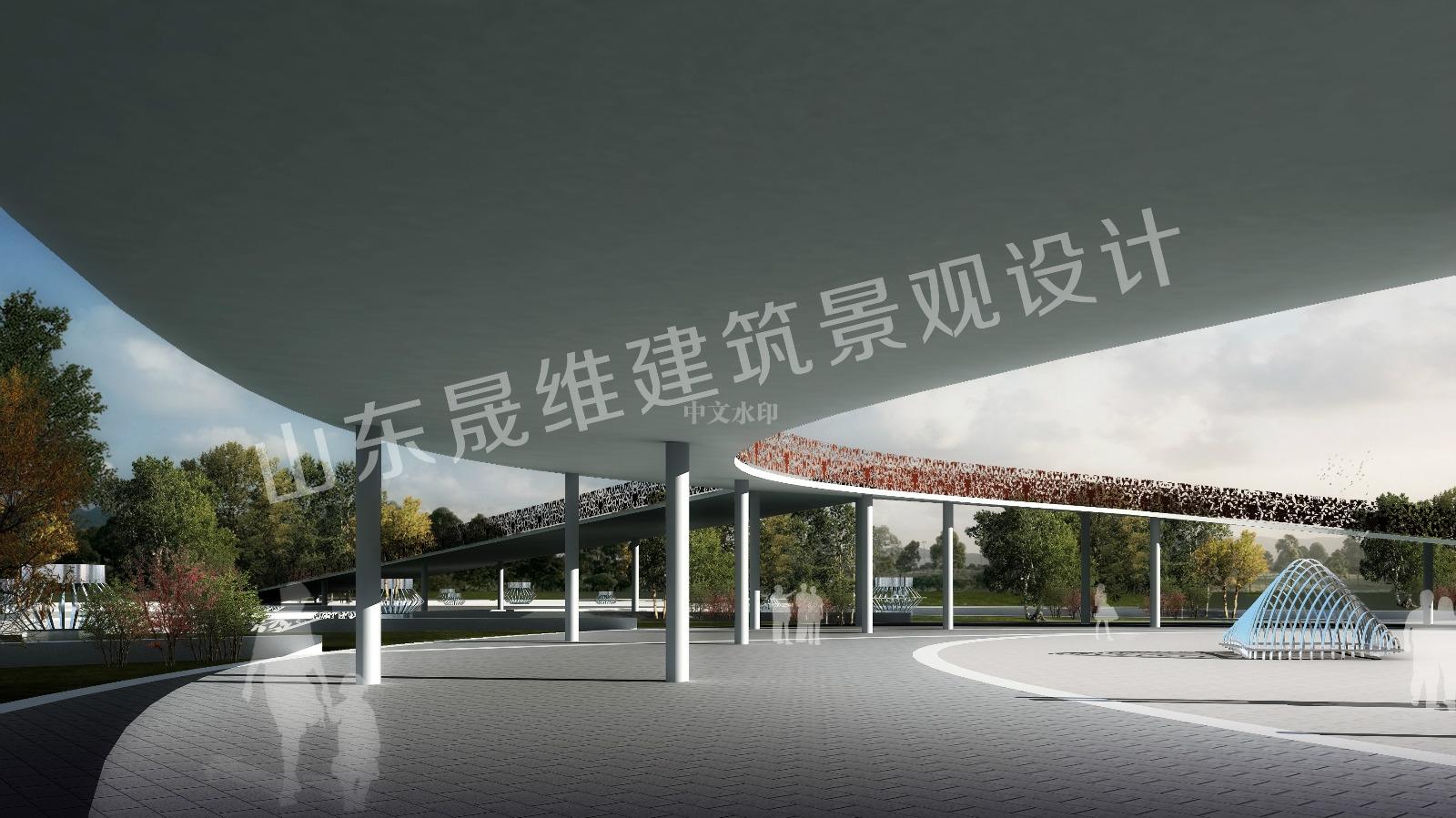曲阜广场设计图