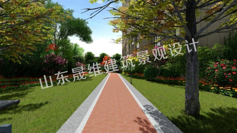 邹城小区景观设计