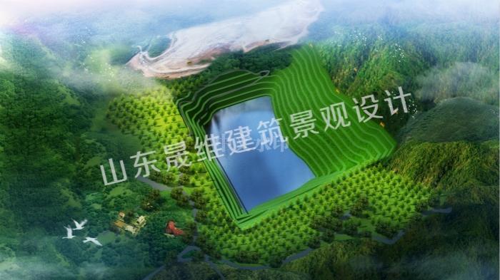 济宁采煤地生态修复设计