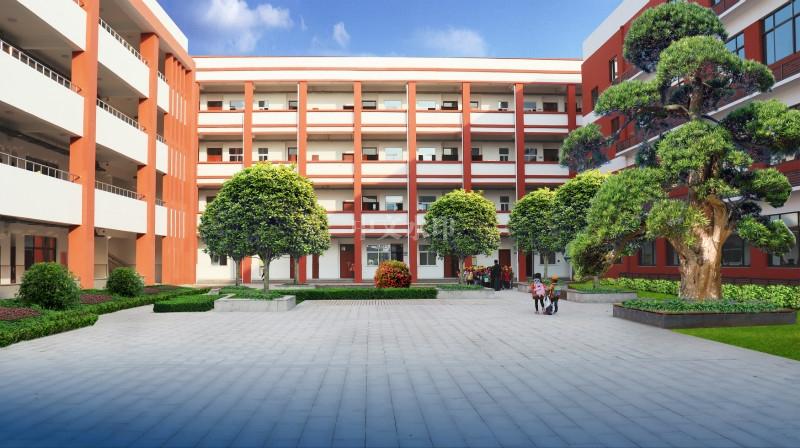 学校景观设计图