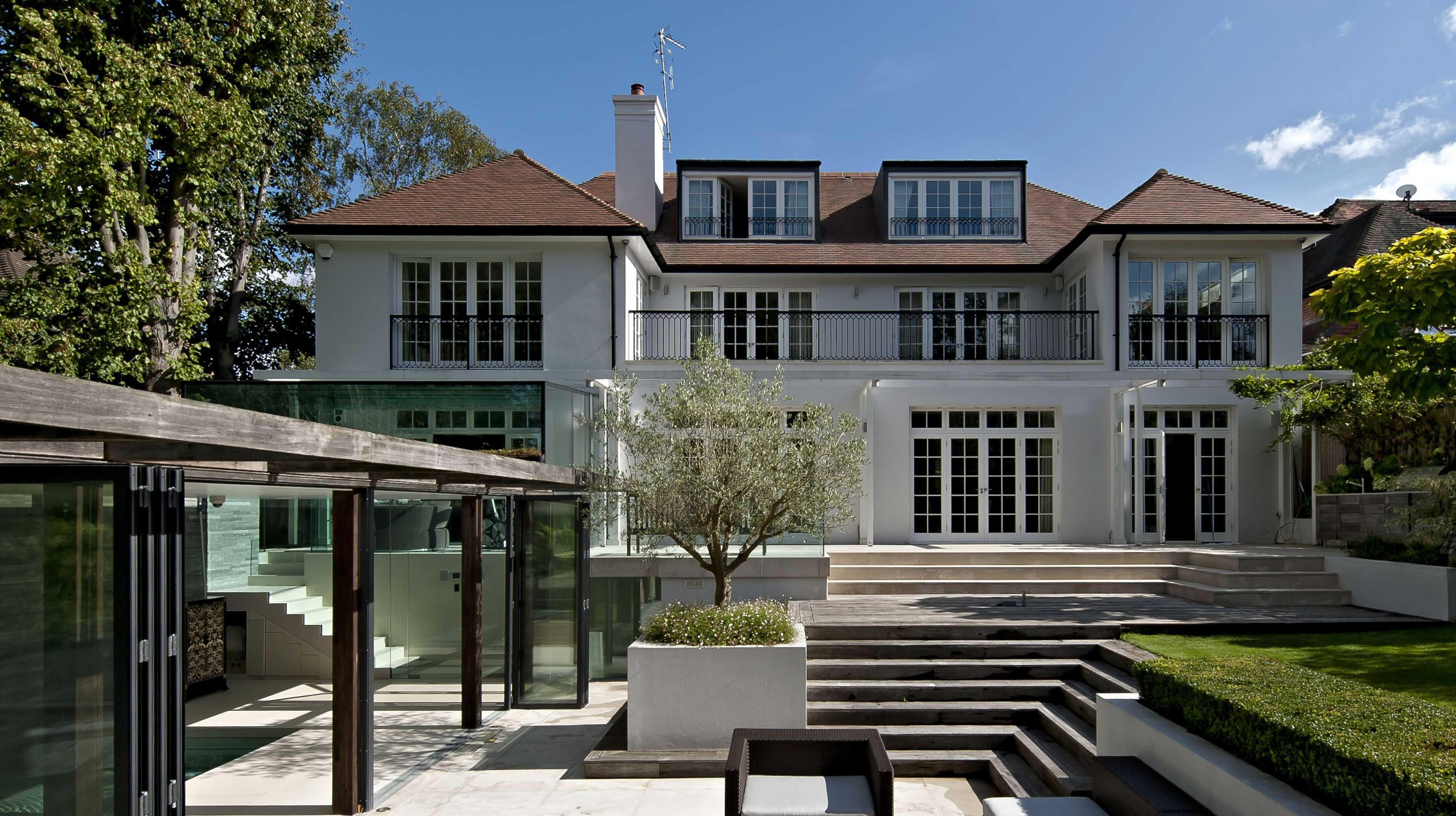 济宁别墅庭院设计,花园洋房景观设计