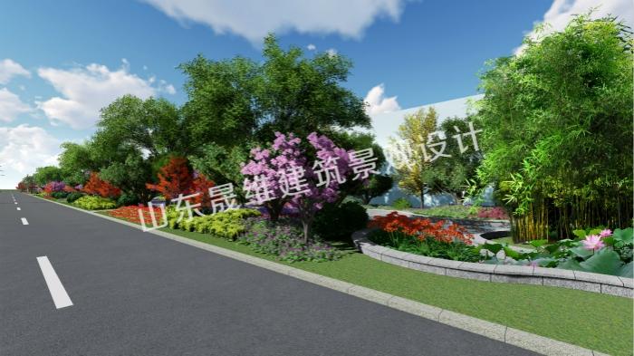 济宁工厂景观设计