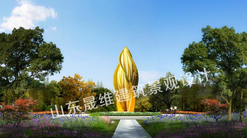 巨野广场景观设计