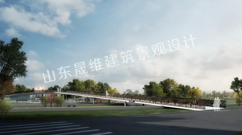 济南道路景观设计