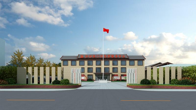 连云港市赣榆区沙河镇西北村村委景观设计